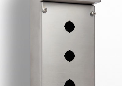 Pushbutton Enclosure 3 Hole